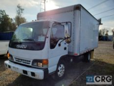 2000 Isuzu NPR Box Truck, 14,250 GVWR, 16' Morgan Box, with MultiQuip GA-GHE Generator, and