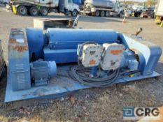 1996 Swaco 518 Centrifuge Unit, 3,000 GVWR, 480/3ph motors, VIN# 4705 [located at 2527 Market St,