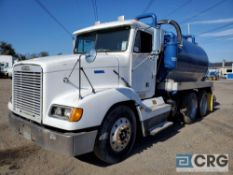 2000 Freightliner D112064ST Liquid Vac Truck, 54,000 GVWR, with 3,500 gal. capacity carbon tank, and