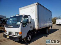 2002 Isuzu NPR Box Truck w/ 2,000 lb. Maxon lift gate, 14,500 GVWR, with 16' Morgan box, 38 cubic