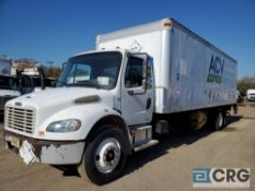 2004 Freightliner Business Class M2 Box Truck w/ Waltco lift gate, 33,000 GVWR, 14,375 hours, with
