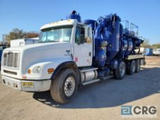 1999 Freightliner FL112 tag axle Turbo Vac Truck, 77,000 GVWR, with 3,000 gal. capacity Cusco T98324