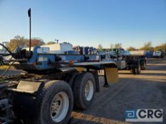1998 Benlee TATBF49 Double Roll Off Trailer, VIN# 1B9D14925WE182159 [located at 928 E Hazelwood Ave,
