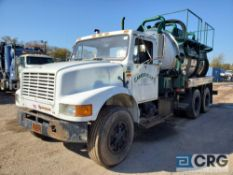 1990 International 4900 Liquid Vac Truck, 54,000 GVWR, chassis only, 42,728 miles[located at 928 E