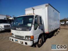 2005 Isuzu NQR Box Truck w/ Thieman lift gate, 17,950 GVWR, with Supreme VA16089096 box, 110,578