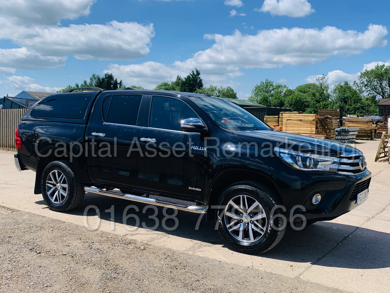 """2017 TOYOTA HILUX INVINCIBLE AUTO - VW CADDY 2017 - PEUGEOT PARTNER 2018 - RENAULT MASTER """"AUTO"""" LUTON 2016 -  A GOOD SELECTION OF LATE VANS"""