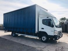 ON SALE MITSUBISHI CANTER 7C18 7.5 TONNE 22 FOOT CURTAINSIDE TRUCK     D.O.R: 1ST MARCH 2011- 11 REG