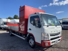 MITSUBISHI CANTER 7C15 (150) LWB DOUBLE DROPSIDE WITH TAIL LIFT - 14 REG - EURO 6 - ULEZ COMPLIANT