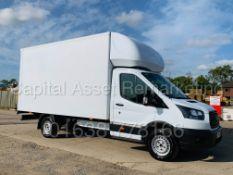 (On Sale) FORD TRANSIT T350L *LWB -LUTON / BOX VAN* (68 REG - EURO 6) '2.0 TDCI-6 SPEED' *TAIL-LIFT*