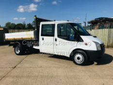 "(ON SALE) FORD TRANSIT 2.2TDCI (125) D/C TWIN WHEEL ""TIPPER"" ONE-STOP BODY (13 REG)"