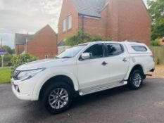 "On Sale MITSUBISHI L200 ""BARBARIAN"" 2.4D-ID ""AUTO"" - 17 REG - LEATHER - SAT NAV - HUGE SPEC -CANOPY"