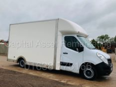 RENAULT MASTER *BUSINESS* LWB - LOW LOADER / LUTON BOX VAN (2019 - EURO 6) '2.3 DCI-130 BHP-6 SPEED'
