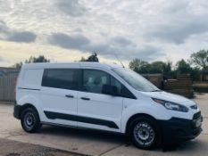 FORD TRANSIT CONNECT *LWB- 5 SEATER CREW VAN* (2018 - EURO 6) 1.5 TDCI - 100 BHP *AIR CON* (1 OWNER)