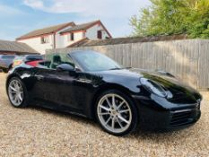 (On Sale) PORSCHE 911 CARRERA S-A *CABRIOLET* (2020-NEW 992 MODEL) AUTO PDK - SAT NAV- CHRONO PACK