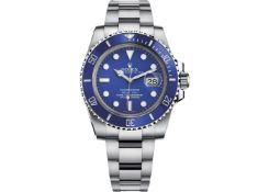 On Sale ROLEX SUBMARINER DATE 40MM 18CT WHITE GOLD (2020) SMURF *GREAT INVESTMENT*