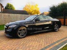 On Sale MERCEDES-BENZ C220d *AMG LINE -CABRIOLET* (2019) '9G TRONIC AUTO - LEATHER - SAT NAV'