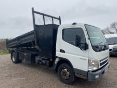 (ON SALE) MITSUBISHI CANTER 7C18 TIPPER TRUCK - 10 REG - 7500KG TIPPER - MANUAL GEARBOX - LOW MILES