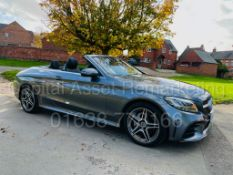 ON SALE MERCEDES-BENZ C220D *AMG LINE -CABRIOLET* (2019) '9G TRONIC AUTO - LEATHER - SAT NAV'