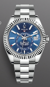 (On Sale) ROLEX SKY-DWELLER 42mm *OYSTER STEEL & WHITE GOLD* (2020) *BEAT THE 10 YEAR WAITING LIST*
