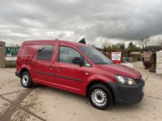VOLKSWAGEN CADDY MAXI 1.6TDI (102) DUALINER/KOMBI/CREW VAN 5 SEATER - 2014 MODEL - 1 KEEPER -