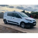 (On Sale) FORD TRANSIT CONNECT *LWB - 5 SEATER CREW VAN* (67 REG - EURO 6) 1.5 TDCI *A/C* (1 OWNER)