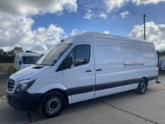 """MERCEDES SPRINTER 313CDI """"LWB"""" HIGH ROOF - 15 REG - 1 PREVIOUS KEEPER - ONLY 96K MILES - LOOK!"""