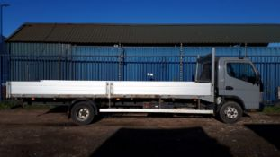 """ON SALE MITSUBISHI FUSO CANTER 7C15 3.0TD""""22ft DOUBLE DROPSIDE"""" -7500KG GROSS- 2013 REG -LOW MILES"""