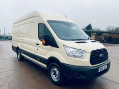 "ON SALE FORD TRANSIT 2.2TDCI ""XLWB"" JUMBO L4H3 (EURO 6) 2017 MODEL - 1 KEEPER -- EXTRA LONG WHEEL"