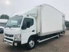 "On Sale FUSO CANTER 7C15 ""LWB"" 22ft BOX VAN WITH ELECTRIC TAIL LIFT - 2017 MODEL - EURO 6 - ONLY 94K"