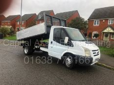 (ON SALE)FORD TRANSIT 115 T350 RWD *SINGLE CAB - TIPPER TRUCK* (2008) '2.4 TDCI - 115 BHP (NO VAT)