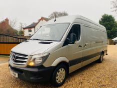 "On Sale MERCEDES SPRINTER 314CDI ""PREMIUM"" (LWB) 17 REG - EURO 6 - SILVER - SAT NAV - AIR CON!!"