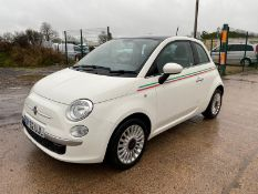 "(ON SALE) FIAT 500 1.2 ""LOUNGE"" (START/STOP) 2013 MODEL - LOW MILES - AIR CON -LOW MILES- NO VAT"