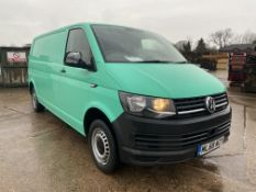 "(ON SALE) VOLKSWAGEN TRANSPORTER 2.0TDI ""BMT"" LONG WHEEL BASE - 2019 MODEL - AIR CON -LOOK"
