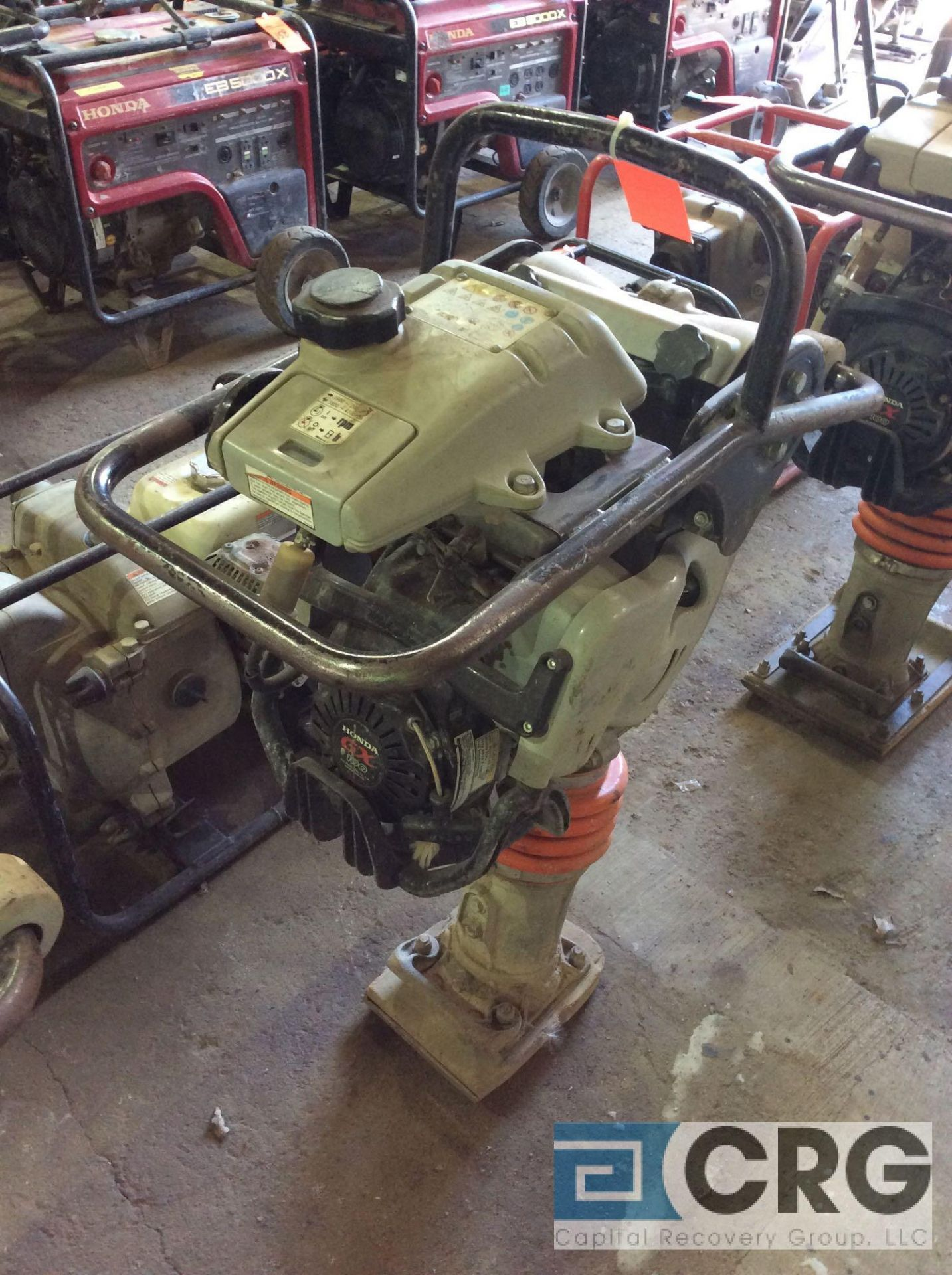 Lot 132 - MultiQuip MTX60 jumping jack tamper with Honda GX100 motor, 204 hours
