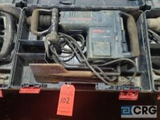 Bosch 11316EVS electric hammer drill with case