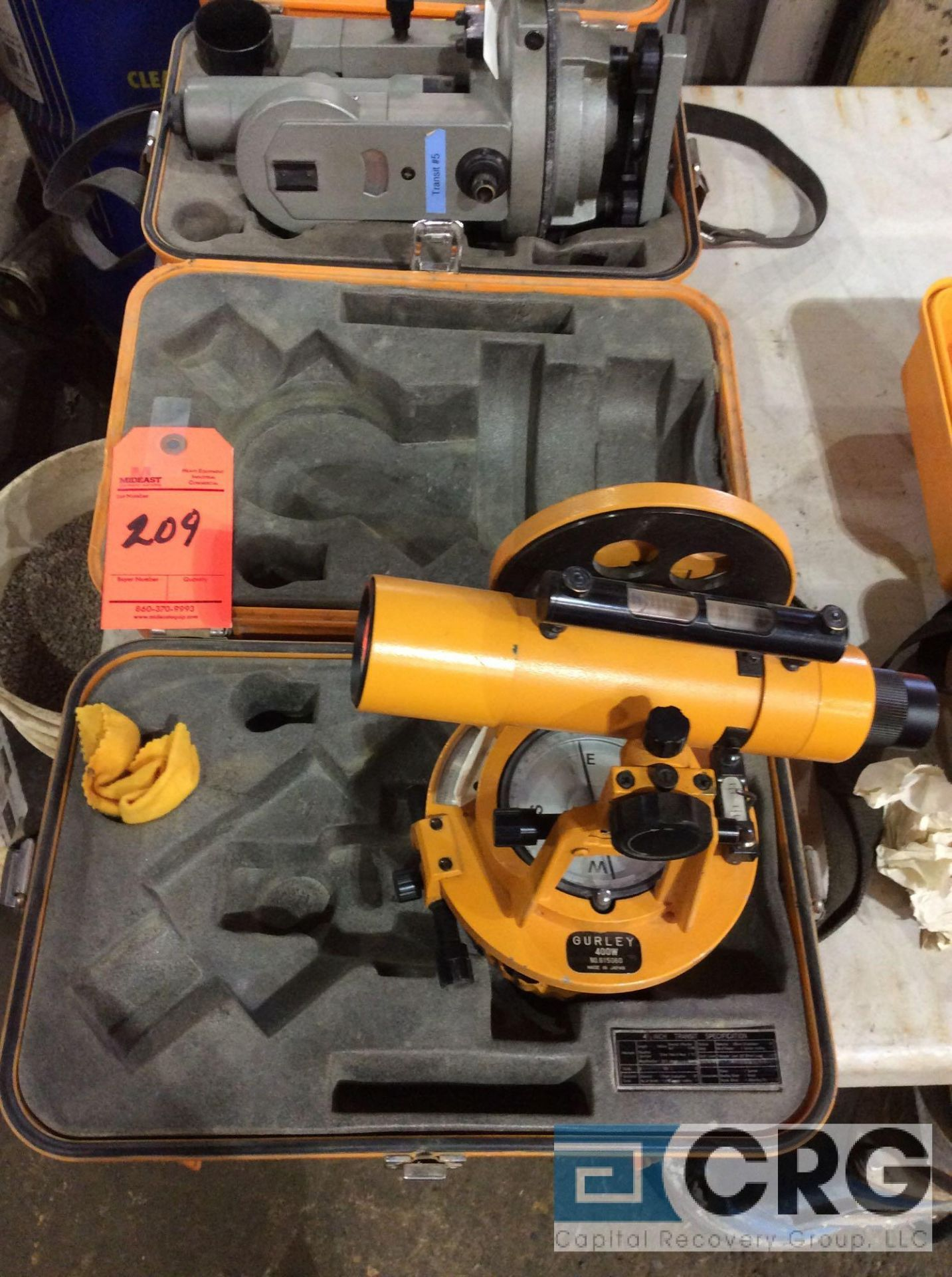 Lot 209 - Gurley 400W transit with case