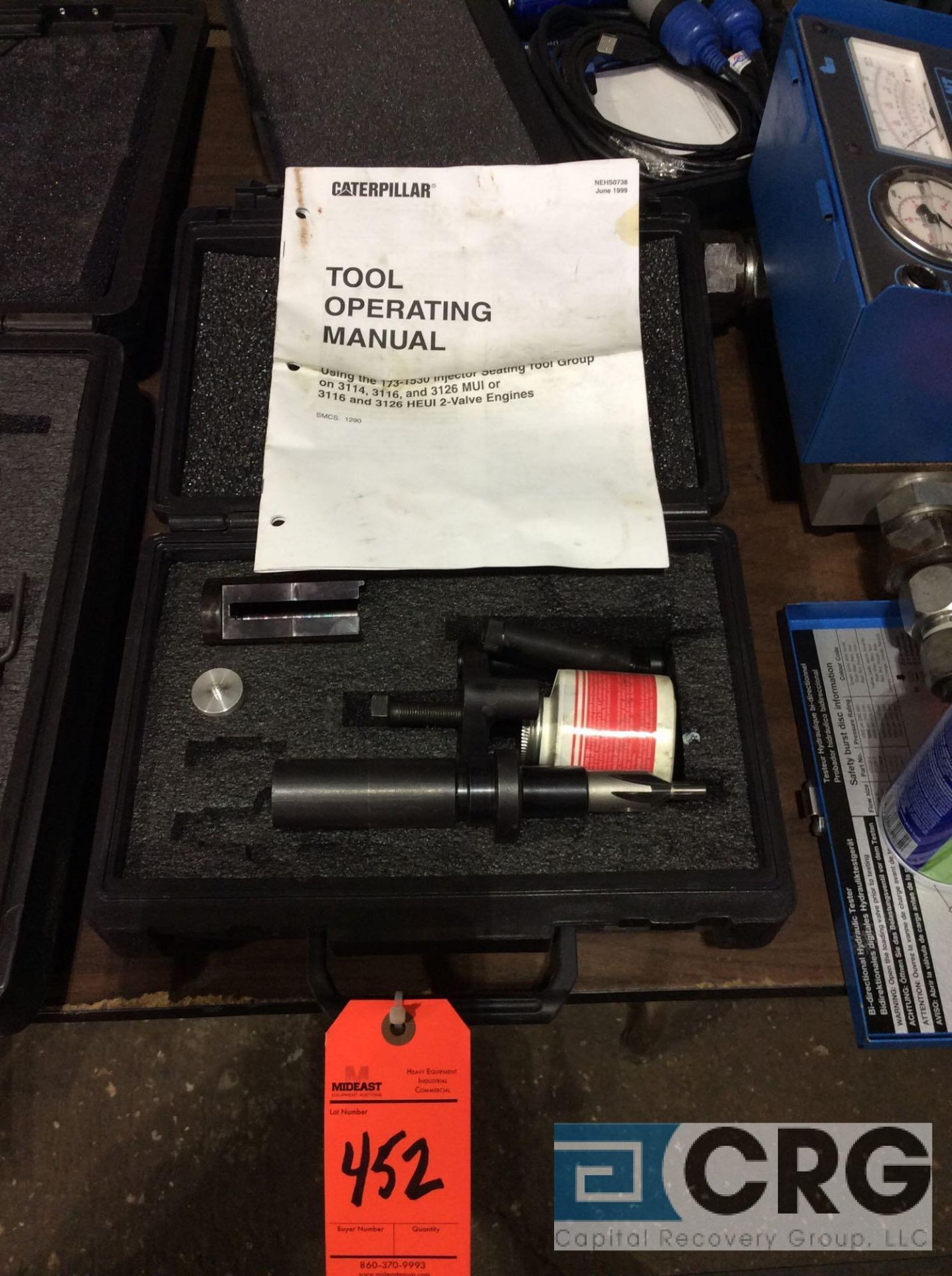 Lot 452 - CAT 173-1530 injector seating tool GP. for 3114,3116, 3126 and 3126 2-valve HEUI injectors