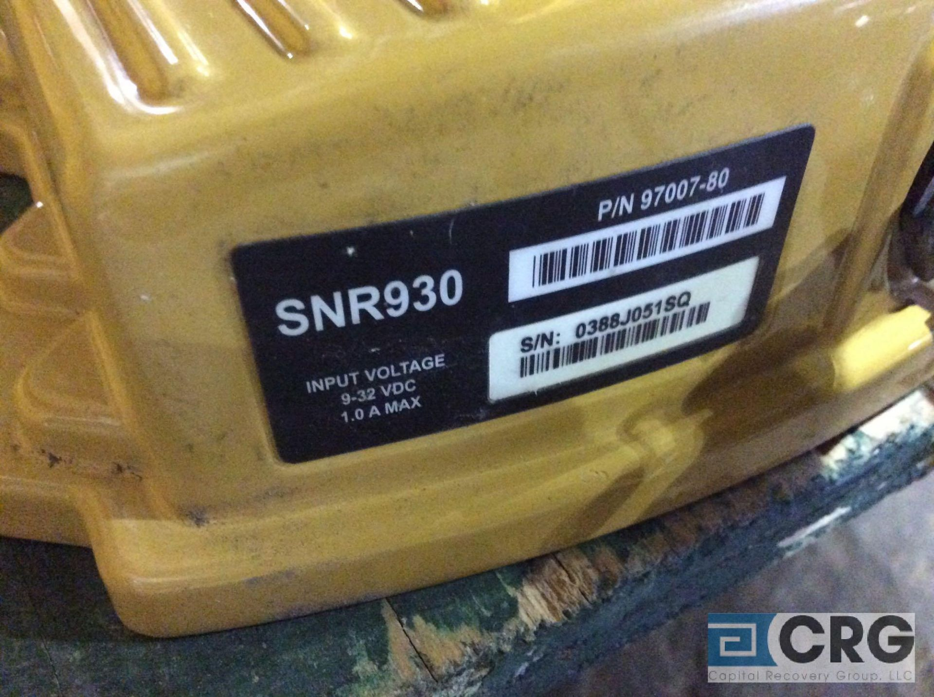 Lot 184C - Trimble GPS SNR930 radio receiver