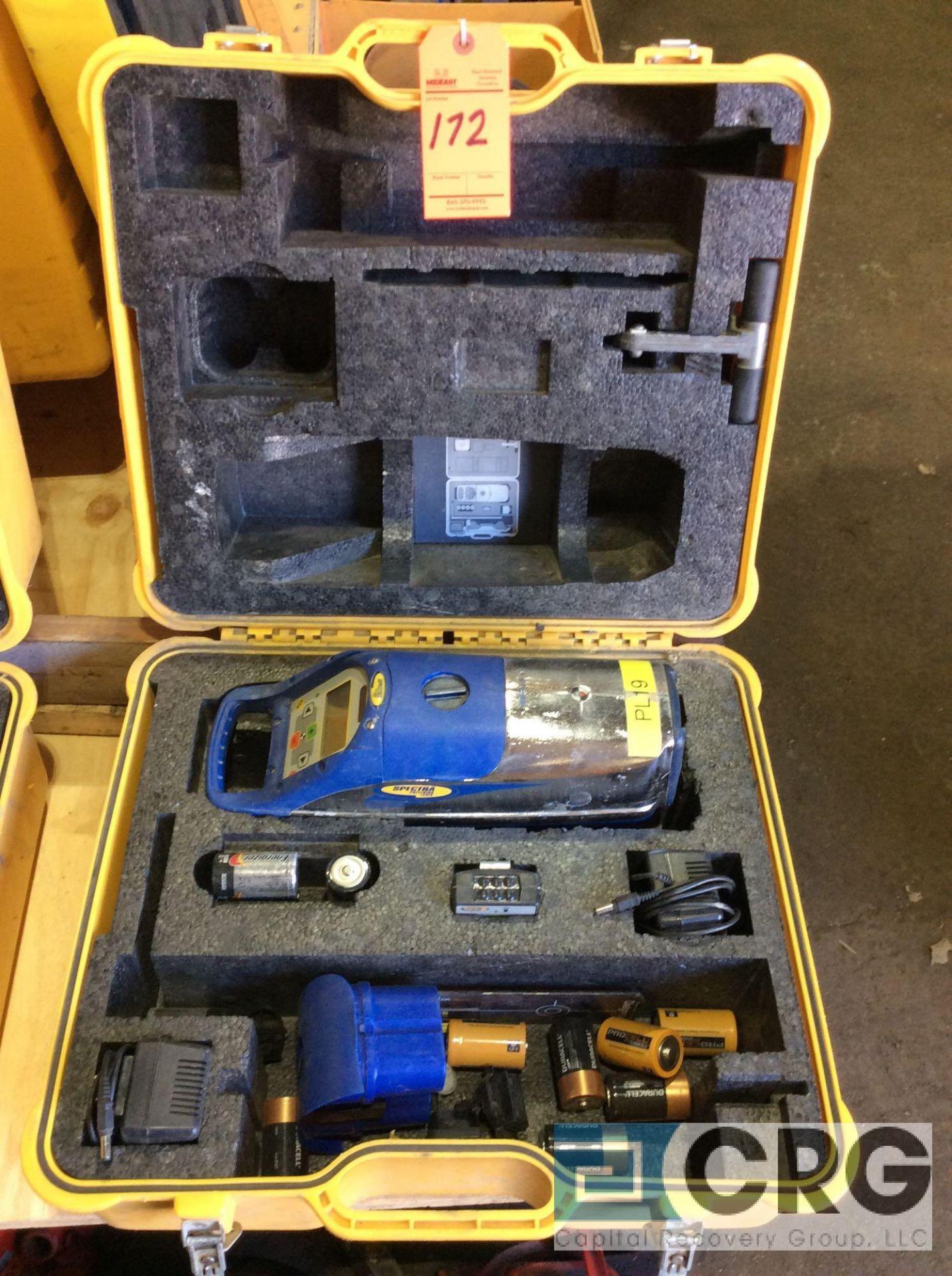 Lot 172 - Trimble DG711 Spectra Precision pipe laser with case