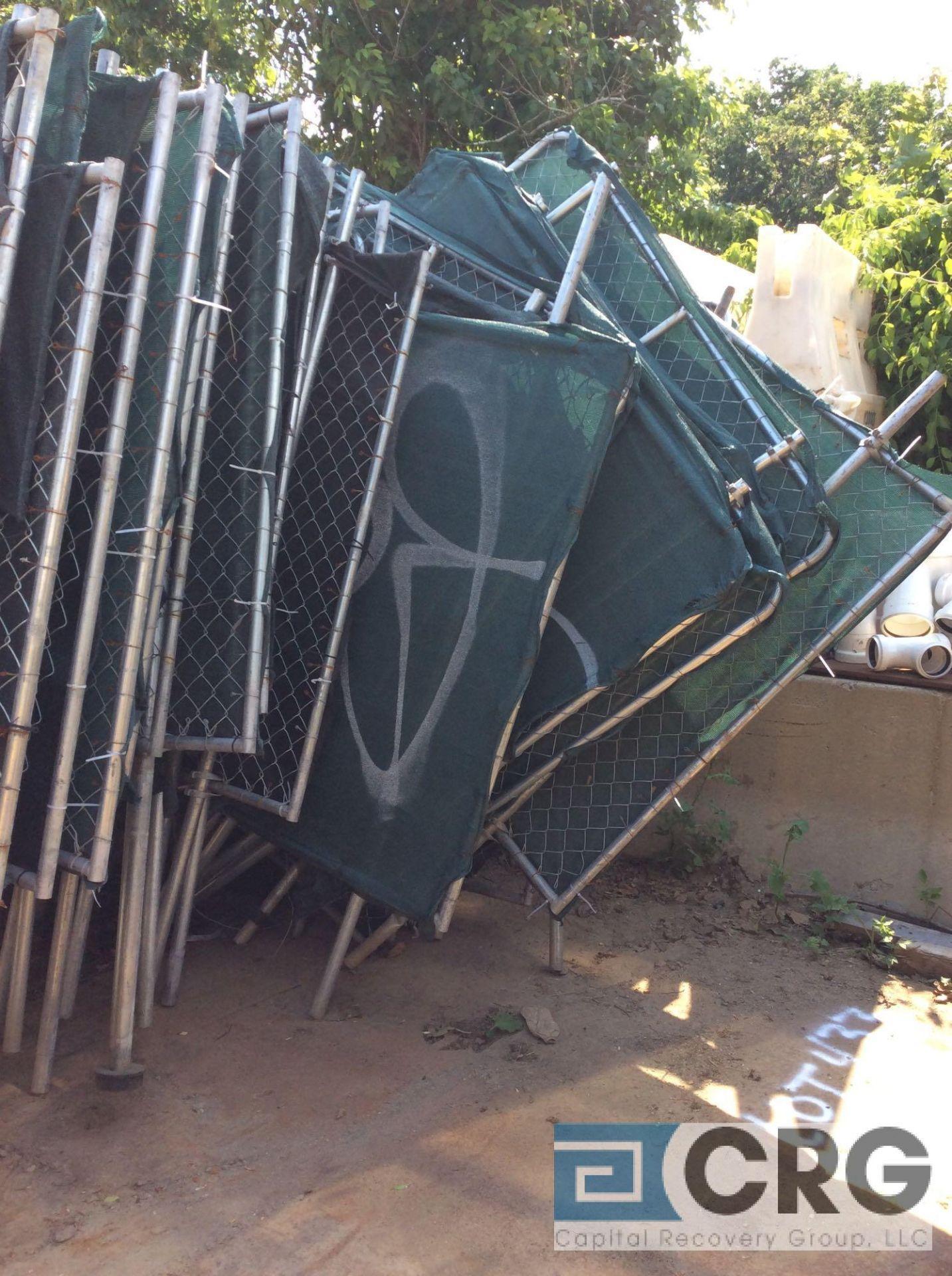 Lot 448 - Lot of asst security fencing