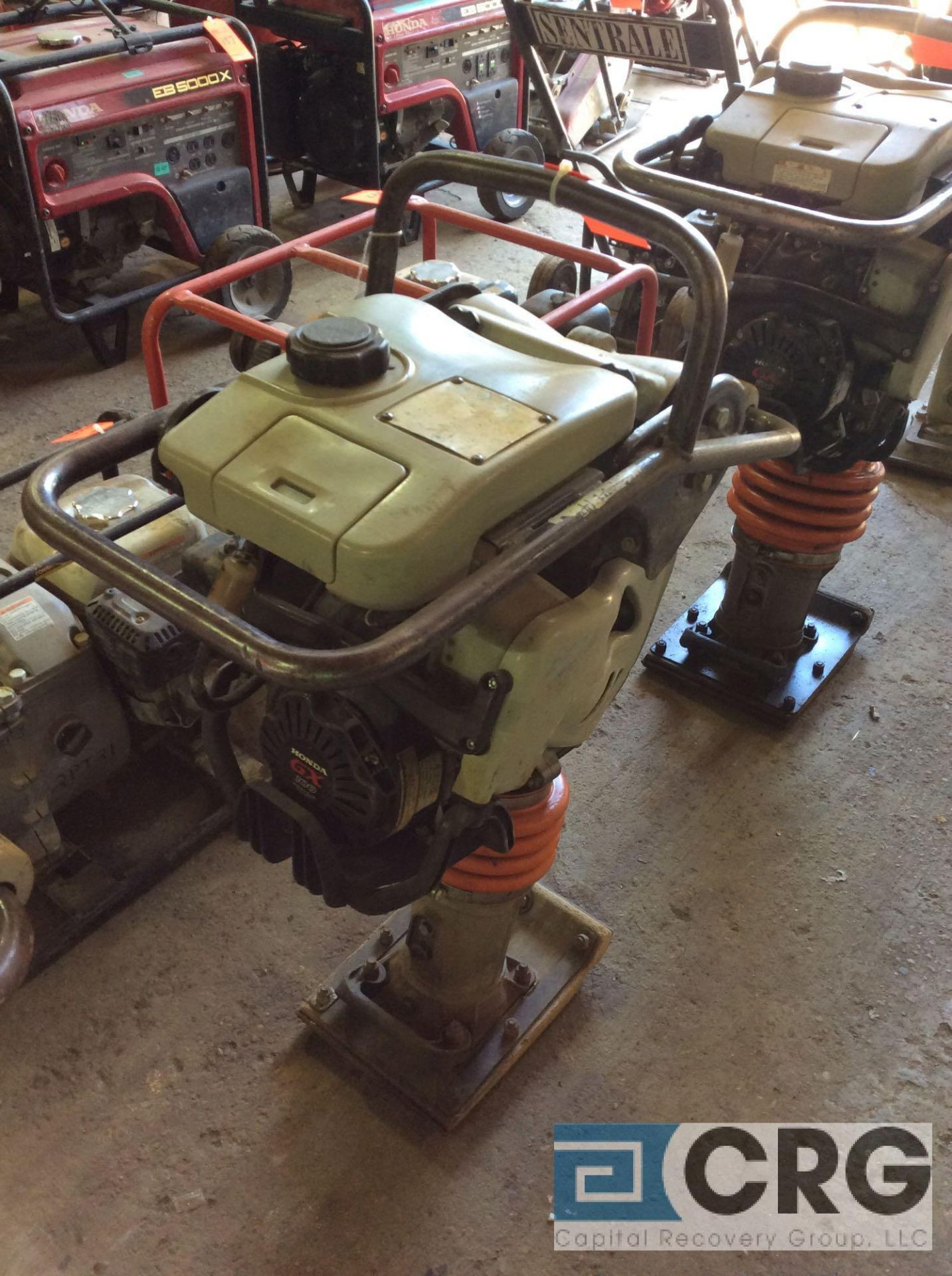 Lot 133 - MultiQuip MTX60 jumping jack tamper with Honda GX100 motor, 303 hours