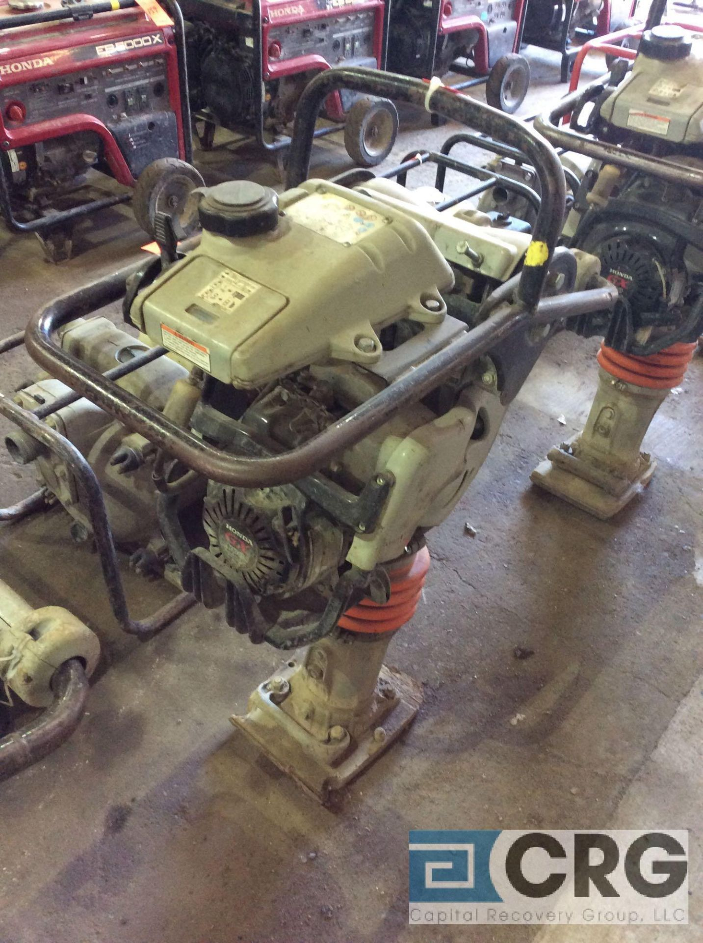 Lot 131 - MultiQuip MTX60 jumping jack tamper with Honda GX100 motor, 143 hours