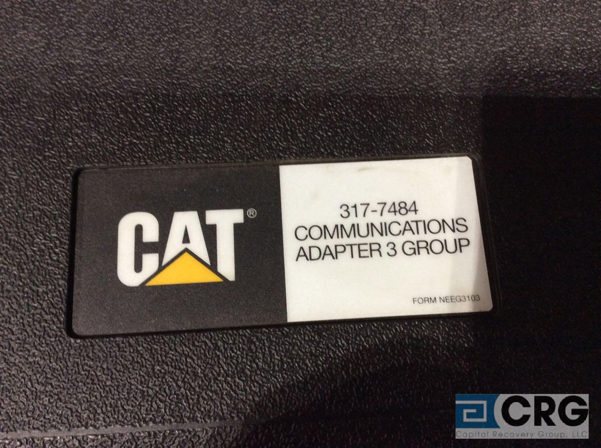 Lot 449 - CAT 317-7484 communications adapter 3 group test kit