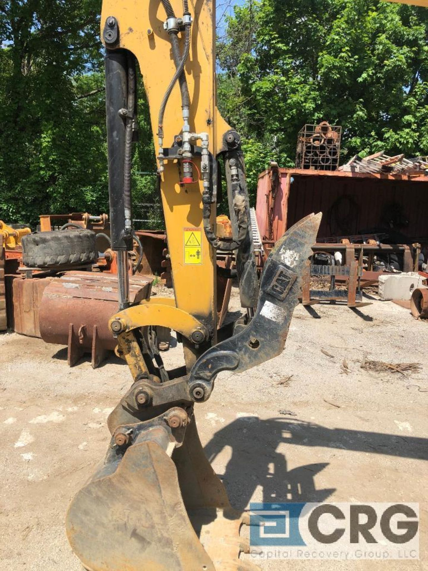 Lot 305 - 2017 CAT 305.5E2 Mini Excavator Hydraulic Thumb, Quick Coupler, Auxilary Hydraulic Lines, Heat and