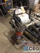 MultiQuip MTX60 jumping jack tamper with Honda GX100 motor, 98 hours