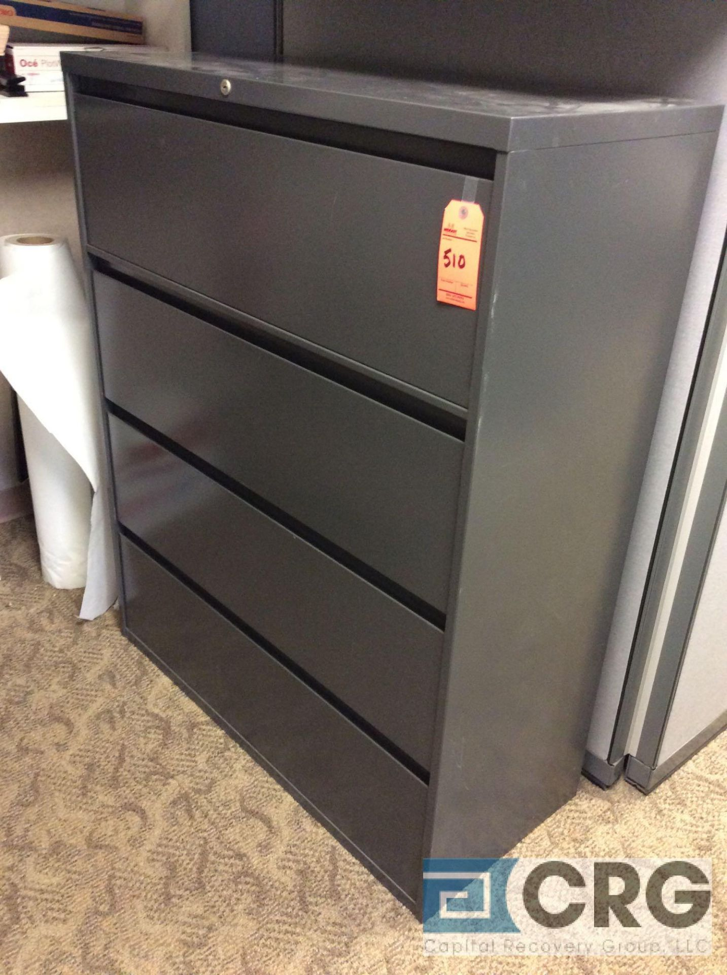 Lot 510 - Lot of (2) Steelcase 4-drawer lateral files