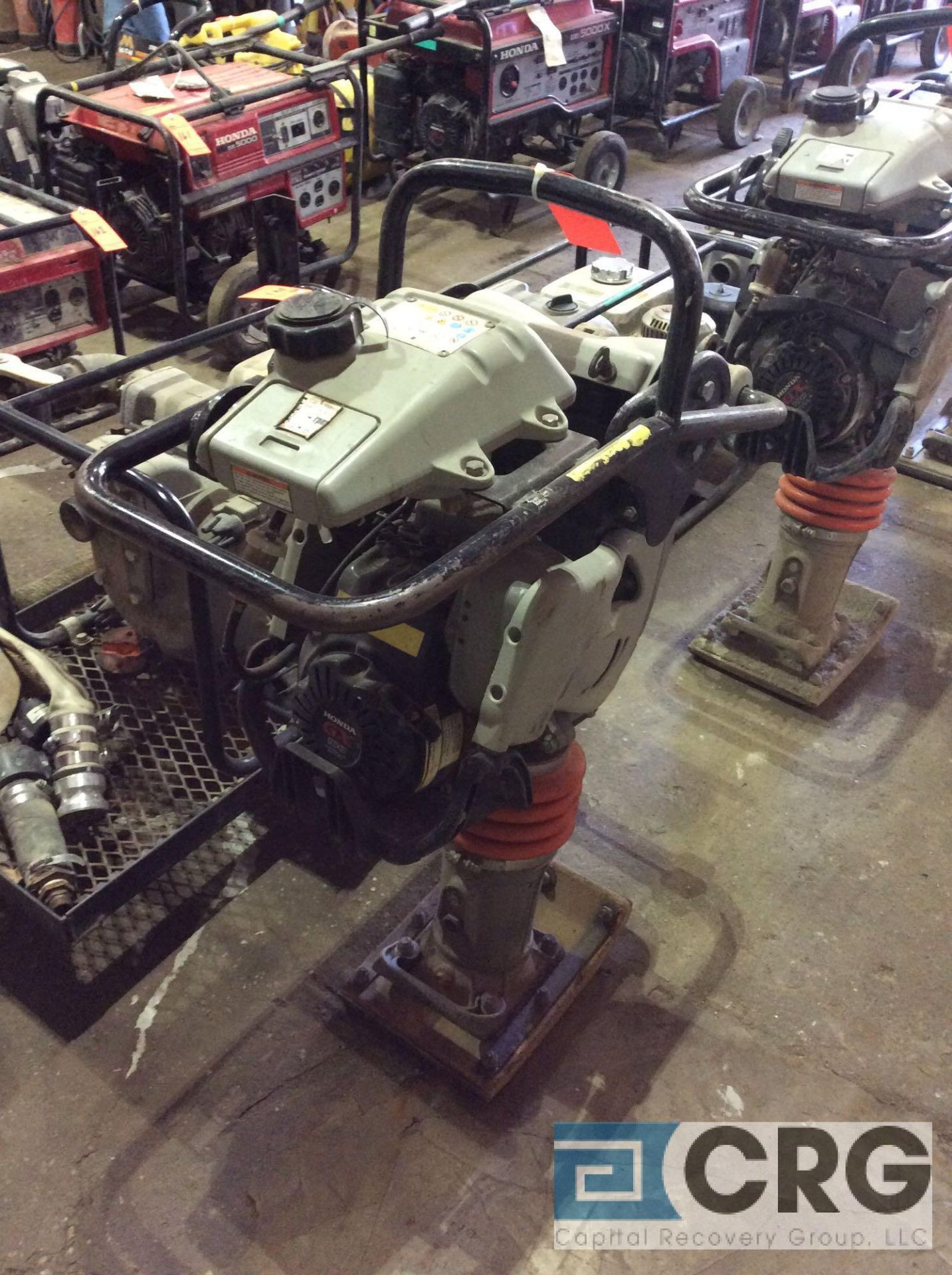Lot 128 - MultiQuip MTX60 jumping jack tamper with Honda GX100 motor, 98 hours