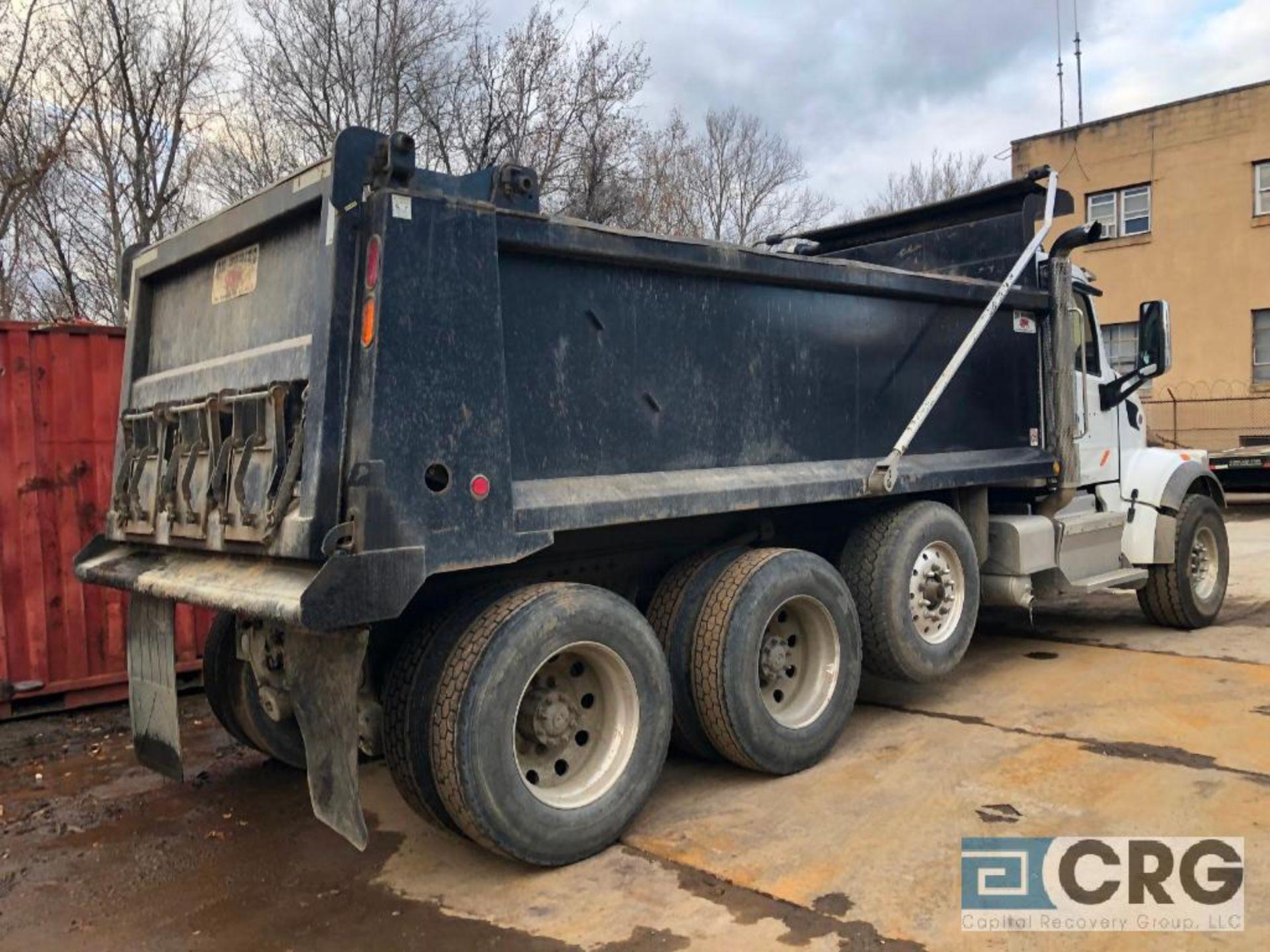 Lot 323 - 2017 Peterbuilt 567 Dump Truck, 20000 lbs Fronts, 46000 lbs Rears, 4:10 Gear Ratio, 18,000 lb