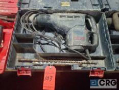 Bosch 11263EVS electric hammer drill with case