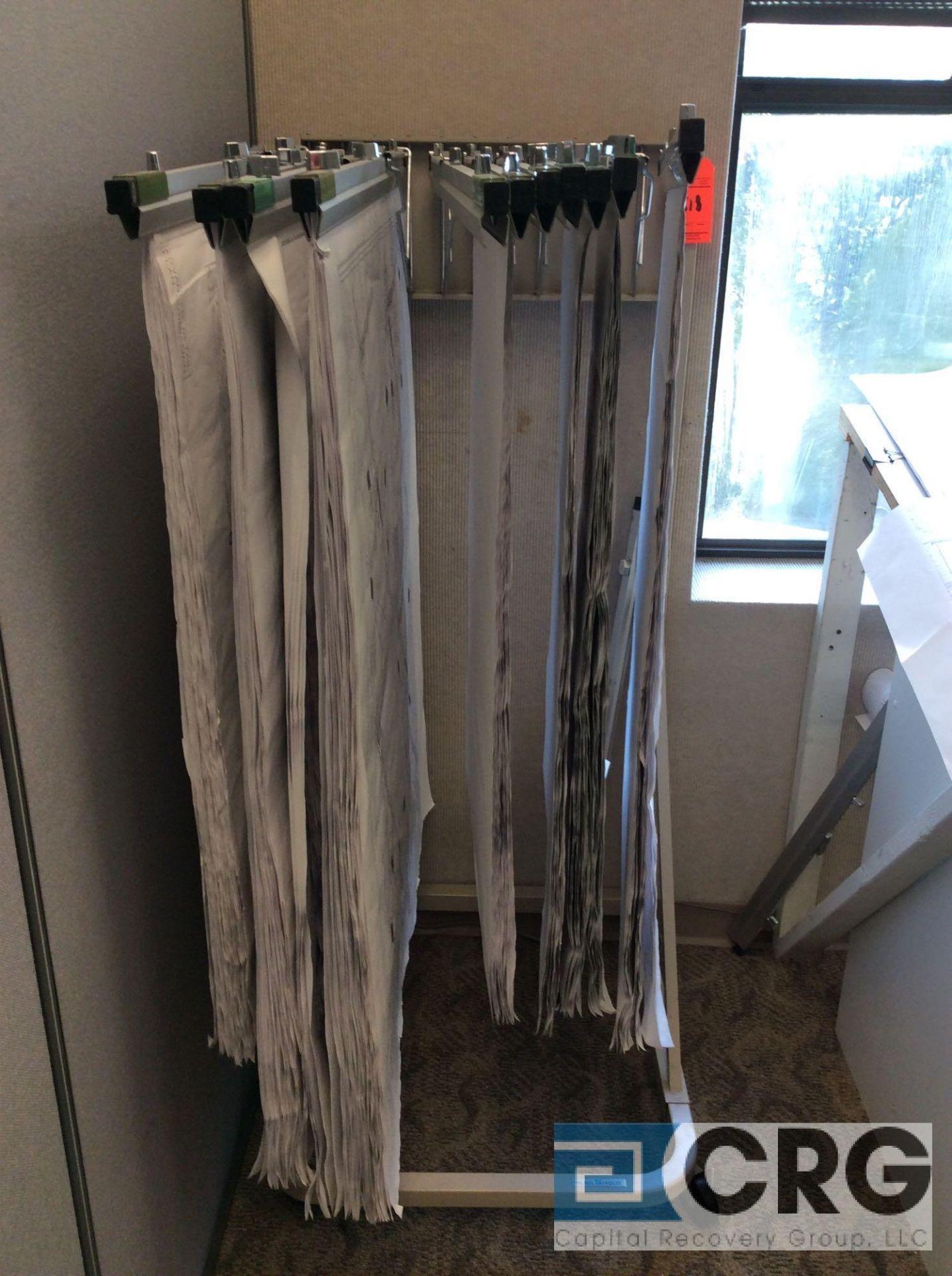 Lot 518 - Lot of (2) asst hanging blueprint files